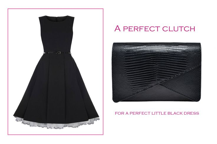 The perfect clutch for the perfect dress- Anne clutch@Wild Inga #style#fashion#elegance#atitude#black#bag#leather#clutch