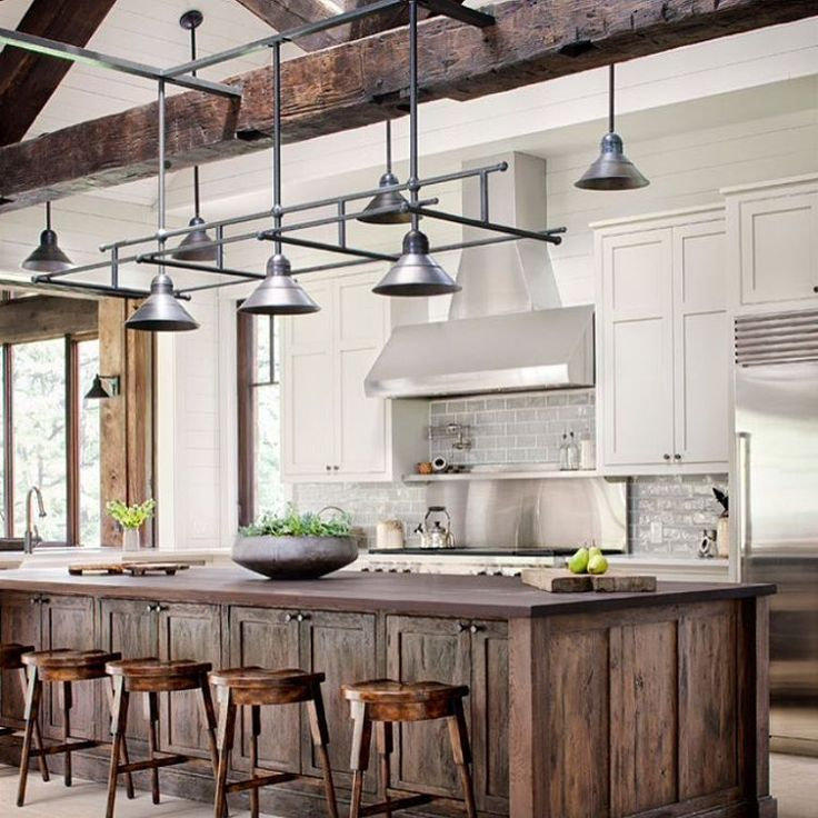 Pics Of Rustic Industrial Kitchen: 3870 Best Kitchens And Pantries Images On Pinterest