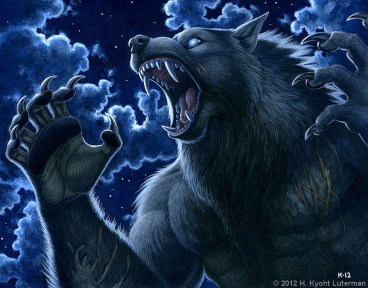 Werewolf Calendar 2013 - February by kyoht.deviantart.com on @DeviantArt