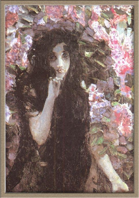 Mikhail Vrubel , Lilacs