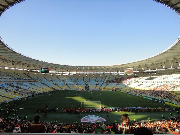 Lo stadio Maracanà, uno dei simboli di Rio de Janeiro