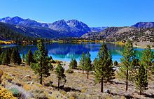 "June Lake, California - And the ""June Lake Loop"".  Some of the best camping and fishing spots in California."