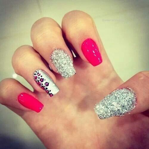 hermosas uñas, lindas si t gusta ser atrevida!!!