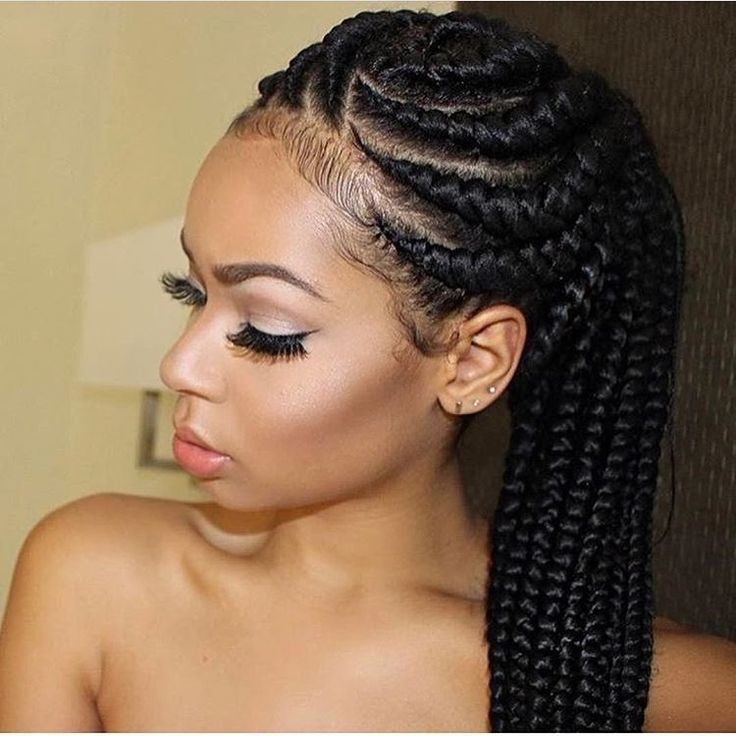 "11.3k Likes, 308 Comments - Black Women Are Everything❗️ (@blackkbombshells) on Instagram: ""@cassie's cornrows ✨"""