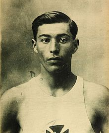 Manuel Plaza ran in the Marathon at the 1924 Olympics, representing Chile