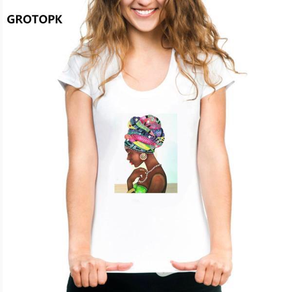 Amd 1 759 02 2 Bunz Melanin Poppin Aba Print Female T Shirt Black Girl Magic Rock Summer 2019 White Tshirt Hip Hop Streetwear Aesthetic To Cabelo Medio Cabelo