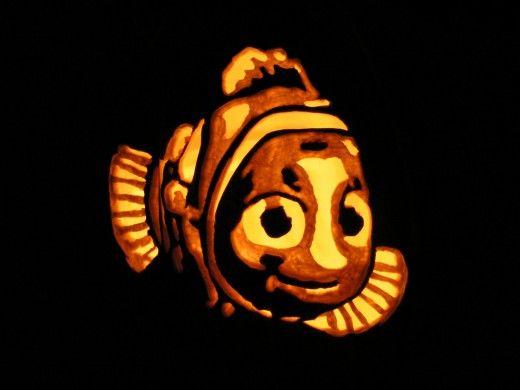 Pumpkin Carving Template Disney