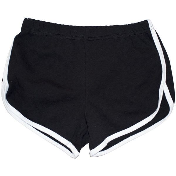 Twerk Running Booty Shorts (84 BRL) ❤ liked on Polyvore featuring shorts, bottoms, pants, short, white shorts, white short shorts and short shorts