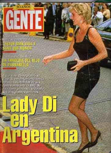 revista-gente-1995 Lady Di en Argentina