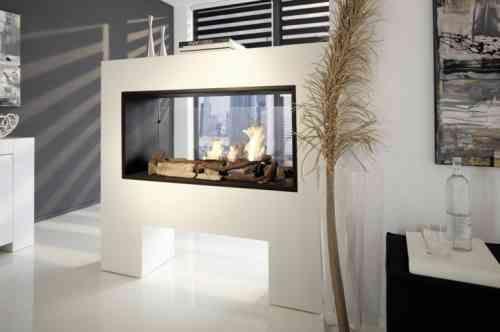 insert double face et salon design contemporain