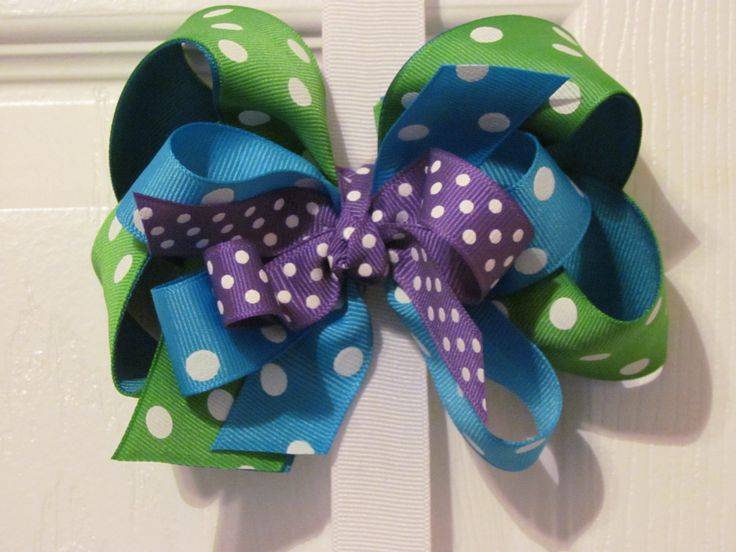 Mosters Inc Monsters University Hair Bow by KsCreationsChildrens, $6.00