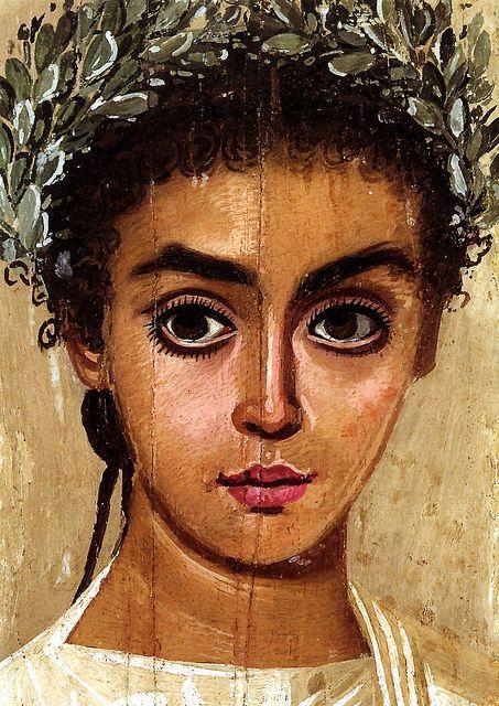 Egyptian-Roman Painting  Liebieghaus Museum, Frankfurt Germany