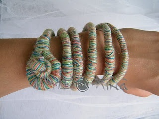 "bracelet Italy hand made ""Made in Kinà"""
