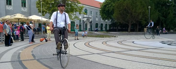 city, Kiskunhalas, old bike