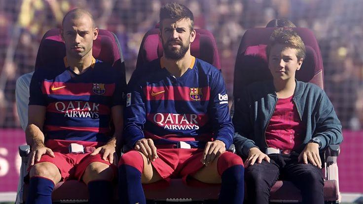 Crewiser.com: Qatar Airways In-Flight Safety Video Starring FC Barcelona