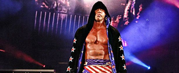 Here is footage of Kurt Angle's entrance at today's Pro Wrestling Revolution event.