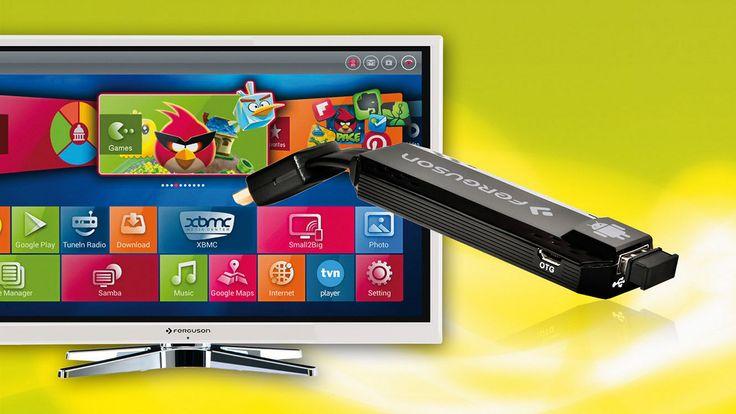 Test przystawki FBOX. Przekształcamy zwykły TV w Smart TV #dvbt #tv #ferguson #android #dongle #hdmi