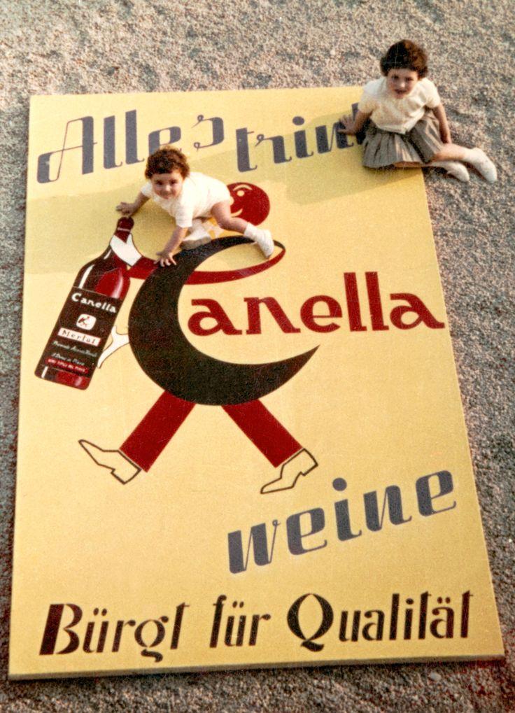 Cartellone pubblicitario 1960