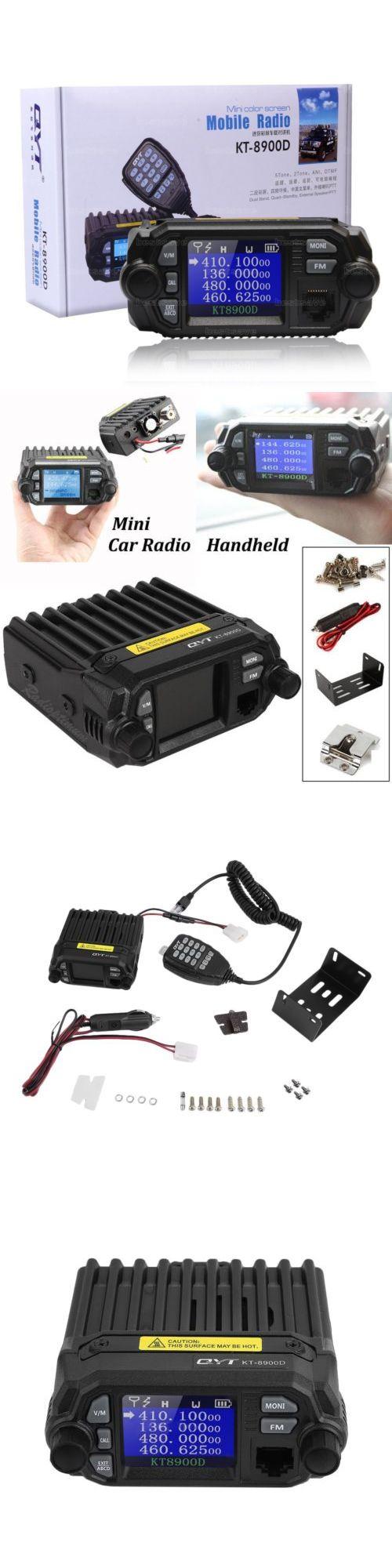 Ham Radio Transceivers: Qyt Kt-8900D Dual Band Vhf Uhf 25 Watt Quad-Standy Car Mobile Fm Radio Mic 25W -> BUY IT NOW ONLY: $75.48 on eBay!