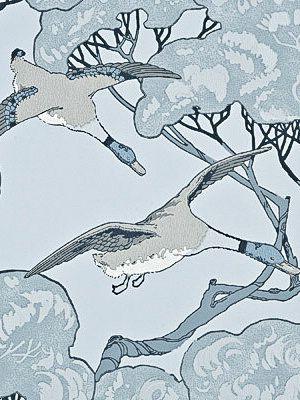 mulberry flying ducks wallpaper-#25
