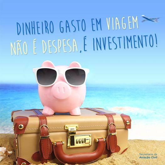 Dinheiro Viagem  Viajar