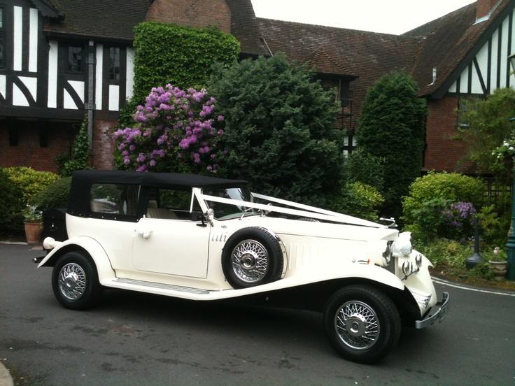 'Lili' ivory 1930's style Beauford Tourer
