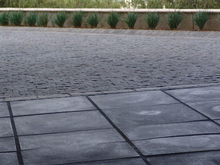 Stylish garage floor tiles