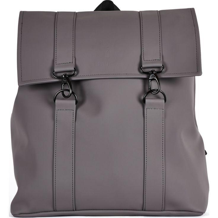 RAINS Waterproof Messenger Bag | Smoke