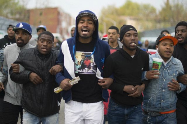 Lawmaker Considers Blocking Baltimore Protesters' Food Stamp Benefits | TakePart