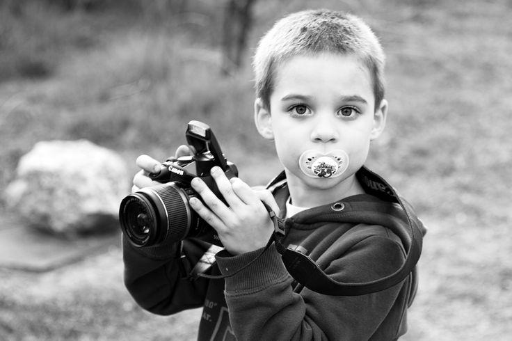 Cumi és fényképezőgép:)