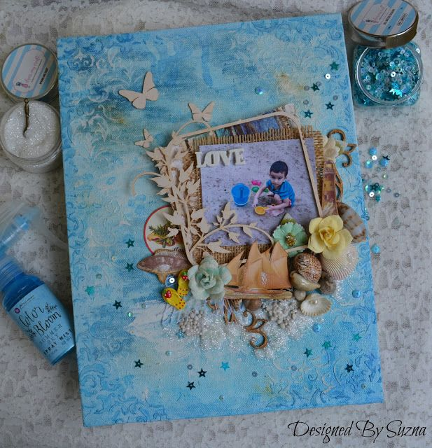 Hi everyone!     Every crafters saw the news on the Prima blog . They're having their annual DT call for 2017-2018, so I'm trying out,...