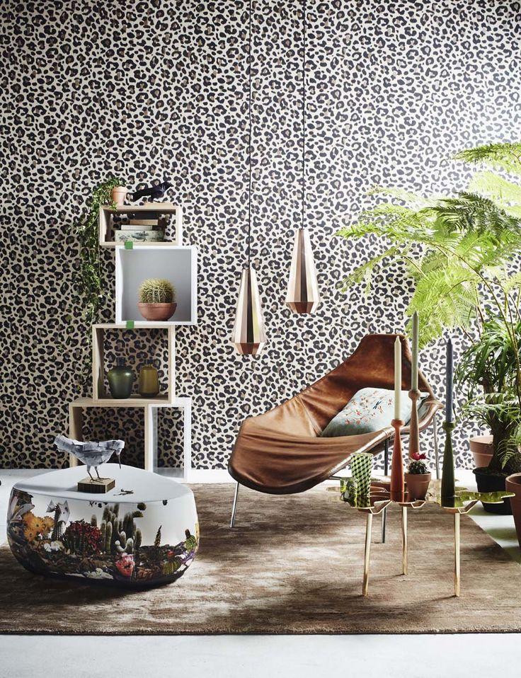 Woonmodetrend Into the Wild, van Perscentrum Wonen! Met Eijffinger behang uit de collectie Ibiza: nummer 330241