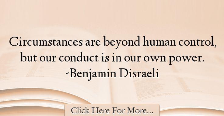 Benjamin Disraeli Quotes About Power - 56426