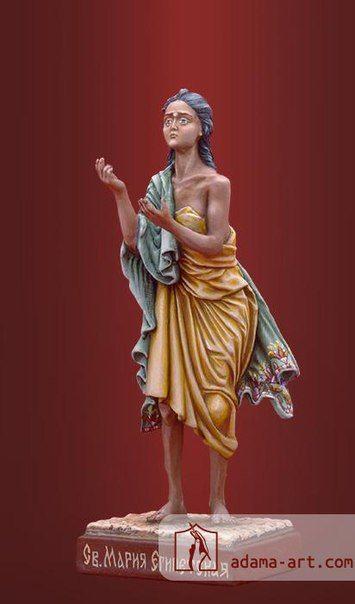 #collection #present #adama_craft   Св. Мария Египетская (191ex) Олово, эксклюзивная роспись Высота статуэтки: 82мм Скульптор: Родион Биловус