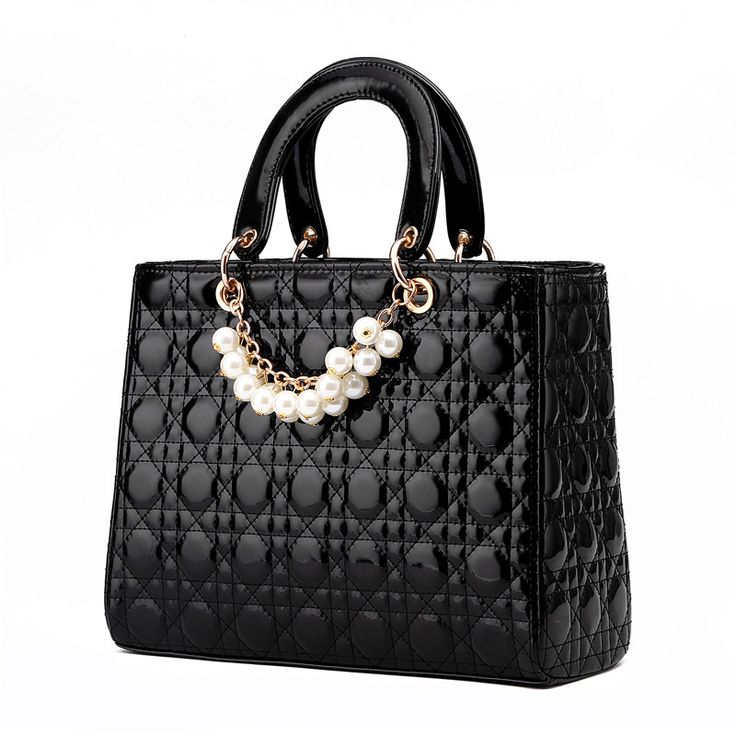 LUXURY BRAND HANDABGS TOTE BAGS!!   Find More Top-Handle Bags Information about Famous brand designer handbags high quality leather fashion ladies handbag luxury pearl tote bags for women top handle bag Borsa,High Quality handbag pu,China bag guitar Suppliers, Cheap bag anime from Shenzhen Idea Fashion Bags Co., Ltd on Aliexpress.com