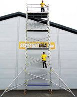 Looking to buy an aluminium scaffold tower? Scaffolds USA Inc. offer high quality aluminium scaffold towers from Alufase, a leading manufacturer chosen by both aircraft and space industry. We have a wide range of scaffold towers for rent and sale. For more information, visit us: http://www.scaffoldusa.com/