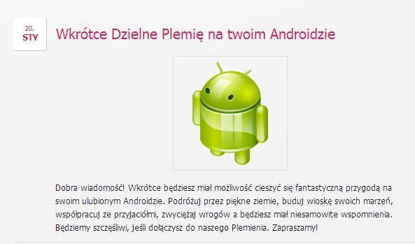 Brave Tribe wkrótce na Androida http://wp.me/p3Ebhr-HR #wesołaosada #happytale