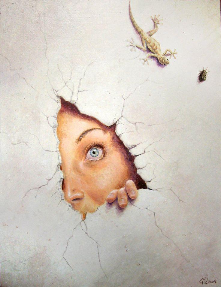 Trompe l'oeil by Akeiron