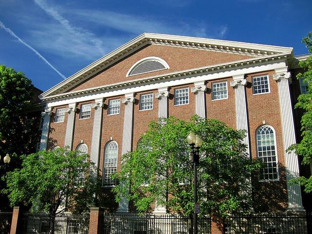 Dudley House, Harvard University, Harvard Square.