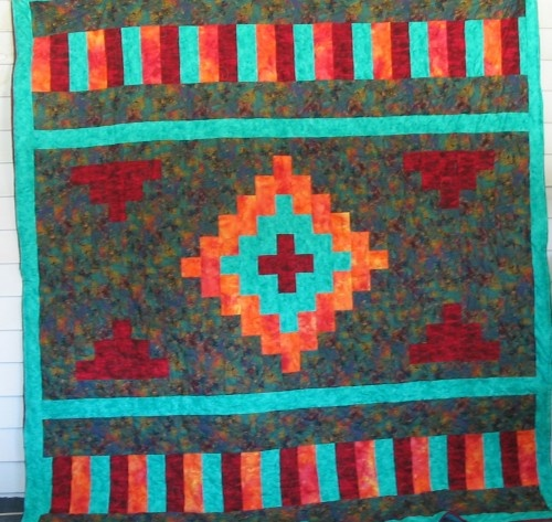 The 28 best images about Quilts - Native American Patterns on Pinterest Quilt, Quilt display ...