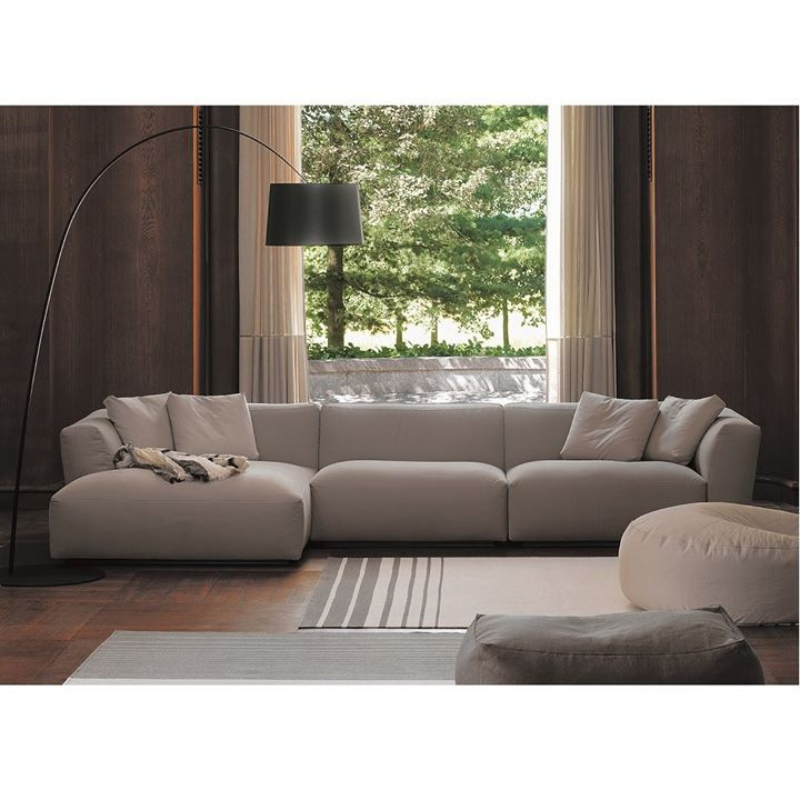 Verzelloni Simple And Effective The Living Room Becomes A Space You Would Never Leave When Contemporary Designers Furniture Stue