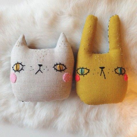 Lulu and Juniper – Small cushion set from @Savannah Hall Hall May @ Sleepy King