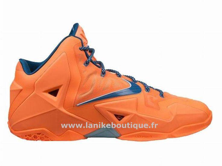Nike LeBron 11 Chaussures De Basket_Ball Pas Cher Pour Homme Hardwood  Classic 626374-800,