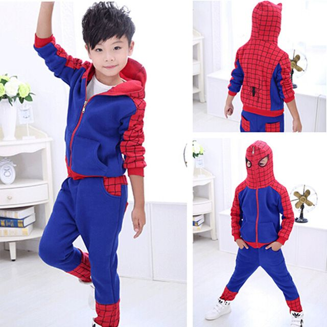 Special price 2017 Hot Boys Spider Man Clothes 2pcs Sets Hoodie+Pants Kids Children Autumn Cotton Spiderman Suit Baby Casual Wear Roupa just only $20.99 with free shipping worldwide  #boysclothing Plese click on picture to see our special price for you