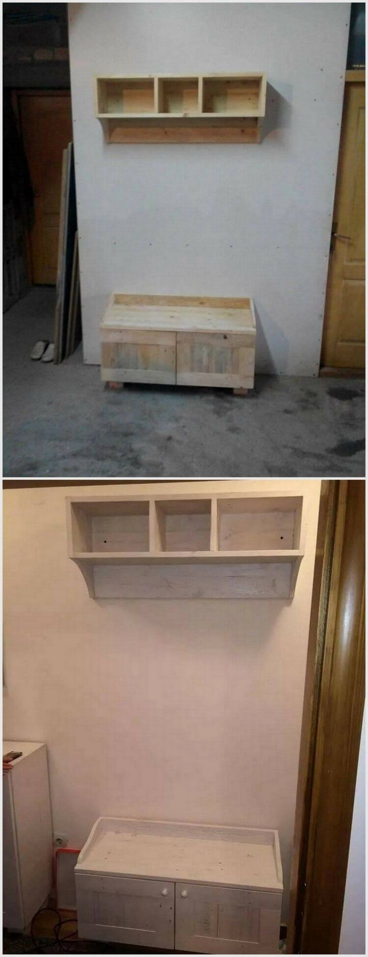 Wooden transport pallets have become increasingly popular for diy - Pallet Wood Recycling Ideas