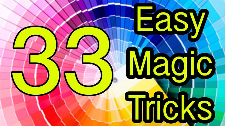 33 Trucos de Magia revelados / Easy magic tricks Revealed 33 Tutorial - YouTube