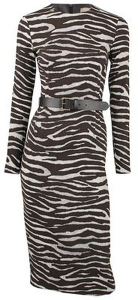 MICHAEL KORS    Zebra Print Dress