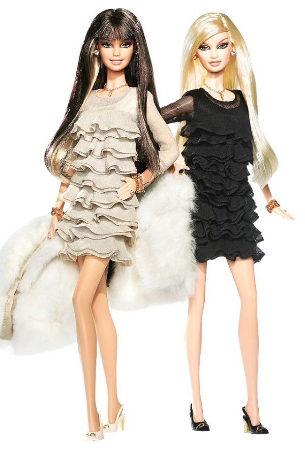 eu laura e minha prima ana juntas versao barbie