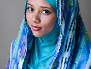 Blue Reflections | Sisters in Hijab