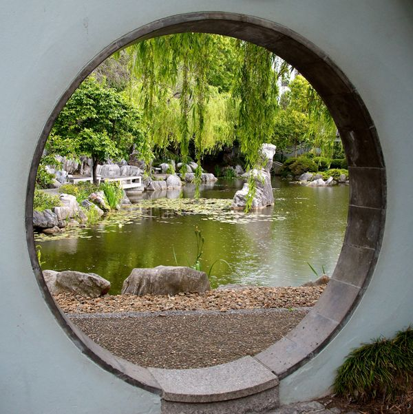 17 best images about moon gate on pinterest gardens for Gate color feng shui